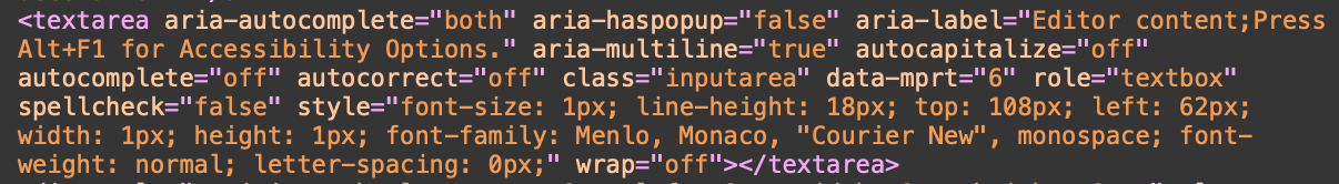 How does Monaco Editor enable text editing on a web page